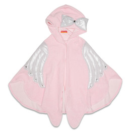 Kate Mack Fairy Dance Hooded Towel - Pink
