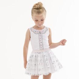Kate Mack Prima Ballerina Top - White