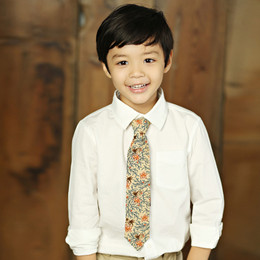 Mustard Pie Amber Fields Boy's Necktie - Multi
