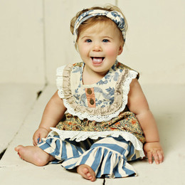 Mustard Pie Amber Fields Baby Layla  2pc Set (**Now up to size 6X**)
