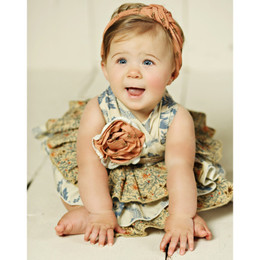 Mustard Pie Amber Fields Jubilee Romper (**Now up to size 4T**)