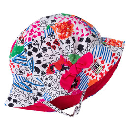 Deux Par Deux So Safari Hat - Floral Print