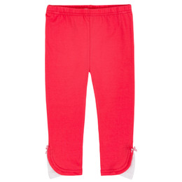 Deux Par Deux Safari Talk Legging - Teaberry