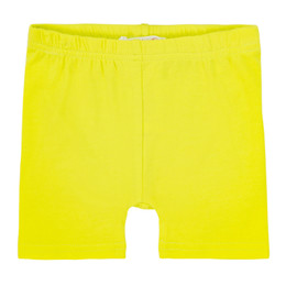 Deux Par Deux So Safari Biker Short - Limeade