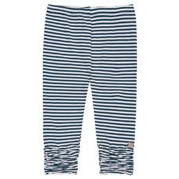 Deux Par Deux High Style Legging - Navy Stripe