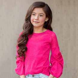 Joyfolie Vivienne Top - Pink