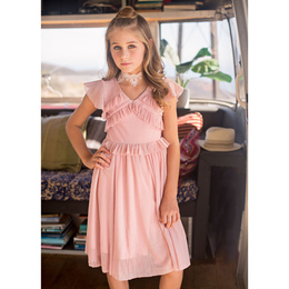Joyfolie Harlow Dress - Blush