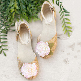Joyfolie Hailey Flat Sandals - Cream