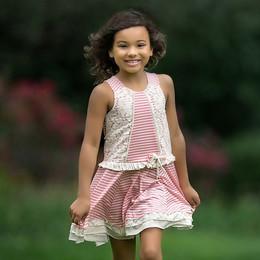 Isobella & Chloe Sweet Pea Dress - Pink