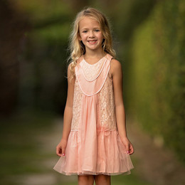 Isobella & Chloe Fairy Tale Dress - Light Pink