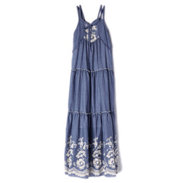 Isobella & Chloe Sweetwater Maxi Dress - Blue