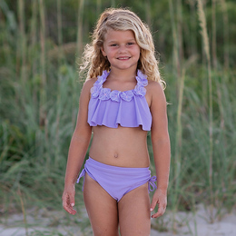 Isobella & Chloe Queenie 2pc Swimsuit - Lilac