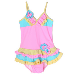 Isobella & Chloe Bridget 1pc Swimsuit - Light Pink