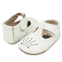 Livie & Luca Cora Baby Shoes - Milk (Spring 2018)