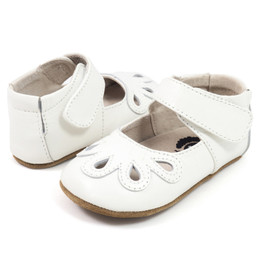 Livie & Luca Petal Baby Shoes - Milk (Spring 2018)