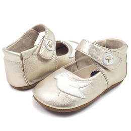 Livie & Luca Pio Pio Baby Shoes - Silver Metallic (Spring 2018)