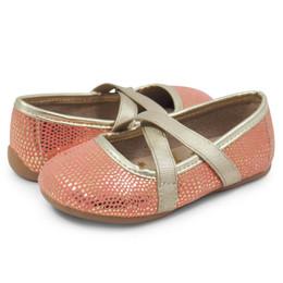 Livie & Luca Aurora Shoes - Golden Coral (Spring 2018)