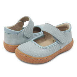 Livie & Luca Gemma Shoes - Light Blue Sparkle (Spring 2018)