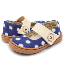 Livie & Luca Carta II Shoes - Blue Dot (*Spring 2018 Southeast Exclusive!*)