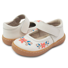 Livie & Luca Frida Shoes - Bright White (Spring 2018)