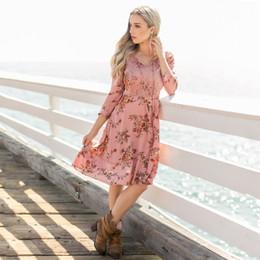 Joyfolie Madeline Dress (Women's) - Rose Floral