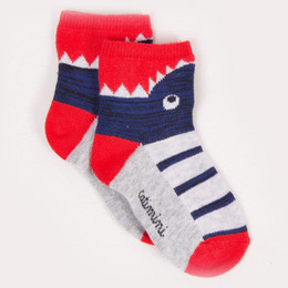 Catimini Garcon Creative Fantaisie Aquatic Garden Shark Socks