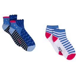Catimini Creative Fantaisie Aquatic Garden Mermaid Socks - 2 pairs