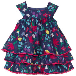 Catimini Nomade Tropical Garden Tiered Dress