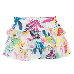 Catimini Nomade Garden Oasis Tiered Skirt