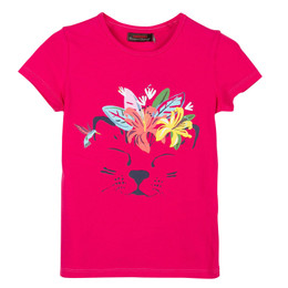 Catimini Nomade Tropical Garden Tiger Face Tee