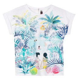 Catimini Nomade Garden Oasis Jungle Swimmer Tee