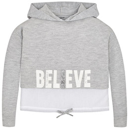 Mayoral Activewear Believe Hooded Pullover