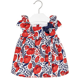 Mayoral A Stylish Girl Floral Print Voile Dress