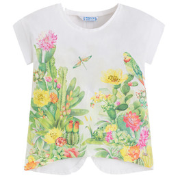 Mayoral Bamboo Jungle Scene Tee