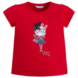Mayoral A Stylish Girl Fashion Lady Tee