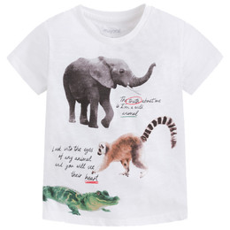 Mayoral Jungle Animal Truth Tee