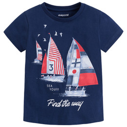 Mayoral Sail Away Sea You Tee