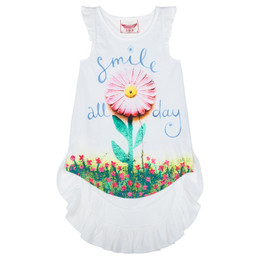 Paper Wings Smile All Day Racer Back Singlet Dress