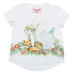 Paper Wings Fox Fairy Loose Fit Tee