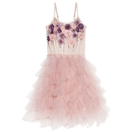 Tutu Du Monde A Parisian Affair Smell The Roses Tutu Dress - Mashmallow