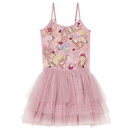 Tutu Du Monde A Parisian Affair Flower Pot Tutu Dress - Bubblegum