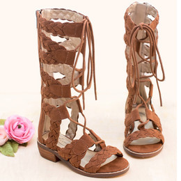 Joyfolie Vilette Gladiator Sandals - Sable