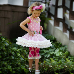 Giggle Moon Garden Of Love Ruth 2pc Tutu Set
