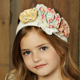 Mustard Pie Sweet Pea Flora Headband - Dot