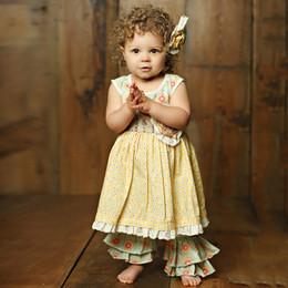 Mustard Pie  Sweet Pea Emma 2pc Dress Set (**Now up to size 6X**)