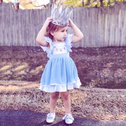 Evie's Closet Teacup Pinafore Dress