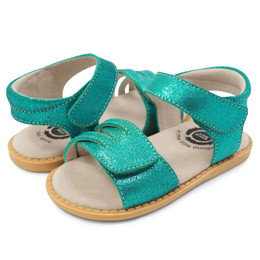 Livie & Luca Athena Sandals - Aqua Shimmer (Summer 2018)