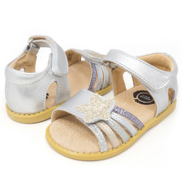 Livie & Luca Nova Sandals - Silver Sparkle (Summer 2018)