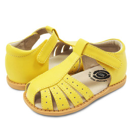 Livie & Luca Paz Sandals - Lemon Yellow (Summer 2018)