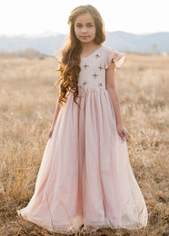 Joyfolie Ophelia Dress - Blush